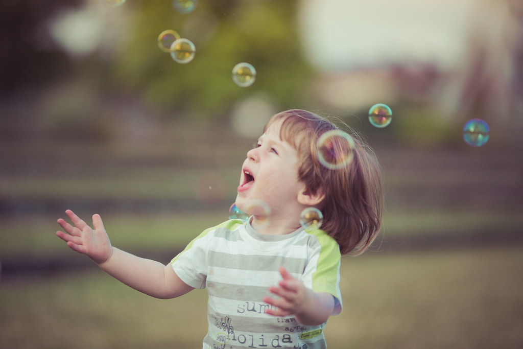 Just like bubbles