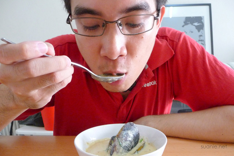 Recipe Lance and his creamy clam chowder