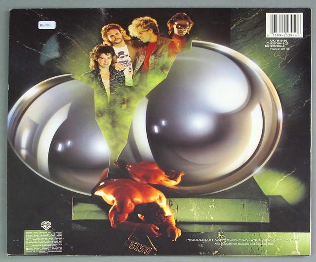"""VAN HALEN - 5150 Germany 12"""" LP VINYL"""
