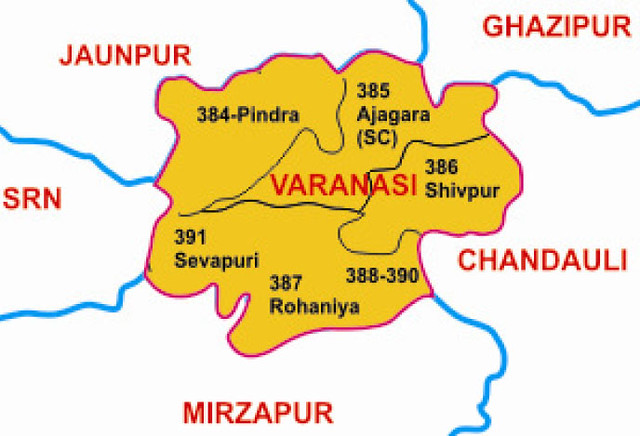 Varanasi district Uttar Pradesh Election 2017