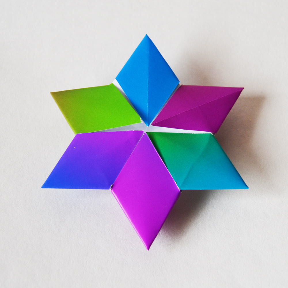 222-estrela hexagonal