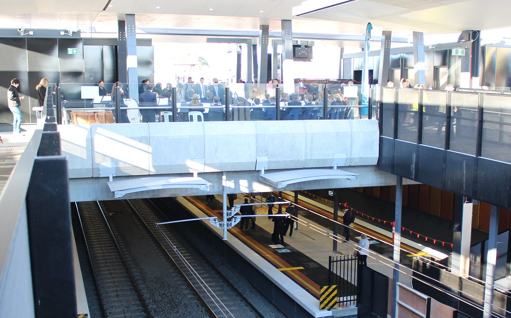Ormond station: underground, overground