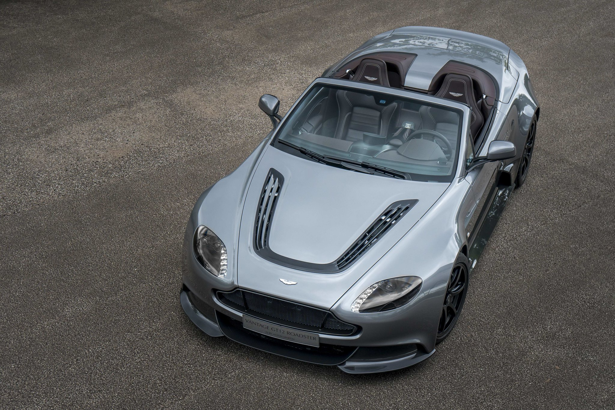 This is the Aston Martin Vantage GT12 Roadster
