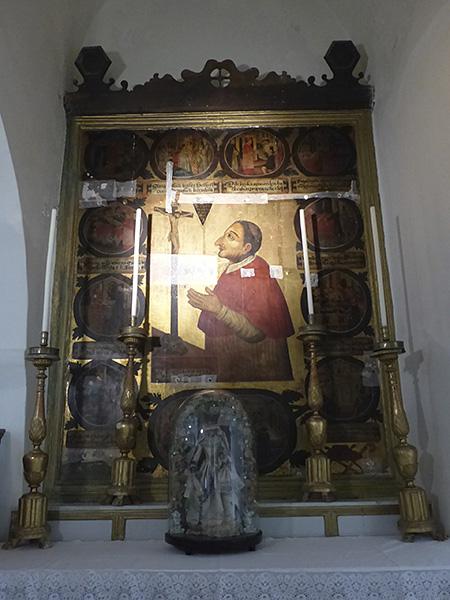 icône cathédrale catholique de Naxos