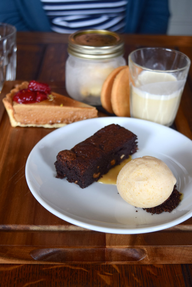 Chocolate Brownie & Peanut Butter Ice Cream at The Corner House, Canterbury | www.rachelphipps.com @rachelphipps