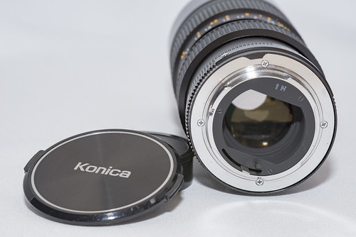 KONICA UC Zoom-HEXANON AR 80-200mm F4