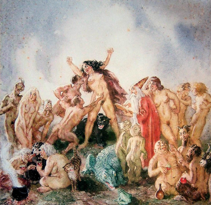 Norman Lindsay - Witches and Warlocks