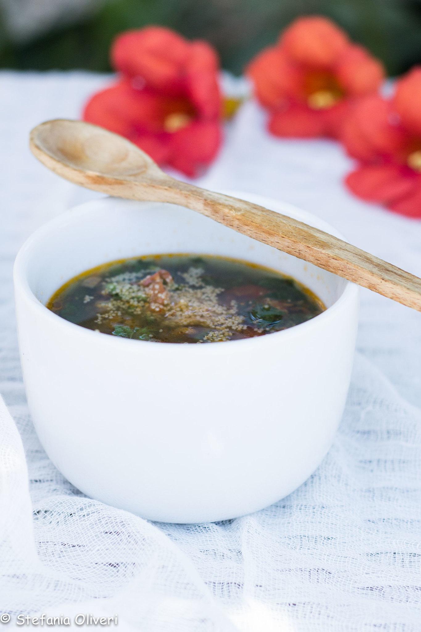zuppa estiva di amaranto 6534