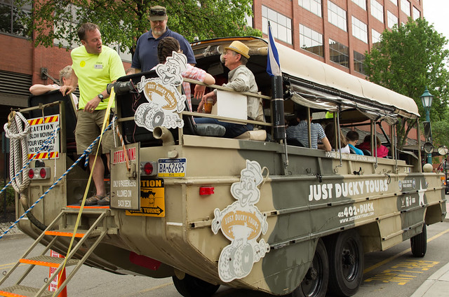 Ducky Tour vehicle