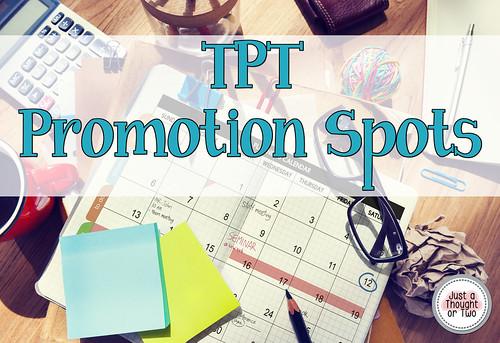 TPT Promotional Spots