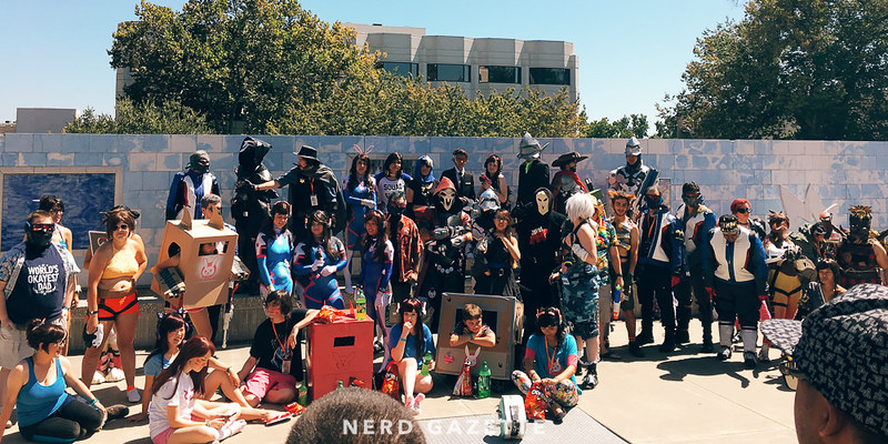 SacAnime Summer 2016 | Overwatch Cosplay GatherinG