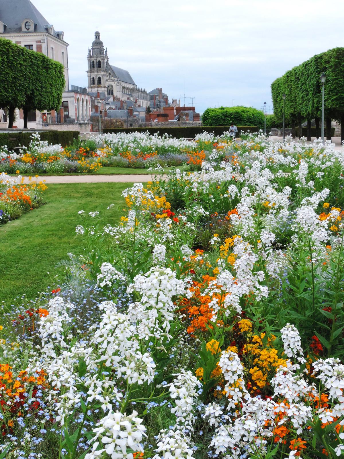 Festival Of Flowers: Blois, France