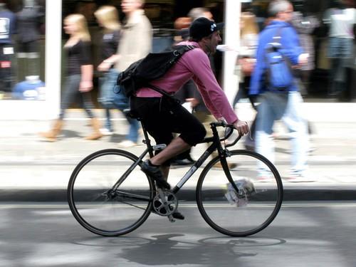 курєр на велосипеди