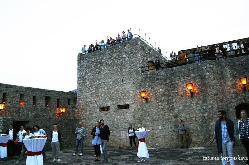 Вид на верхний уровень крепости