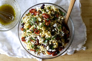 Pasta Salad with Roasted Tomatoes