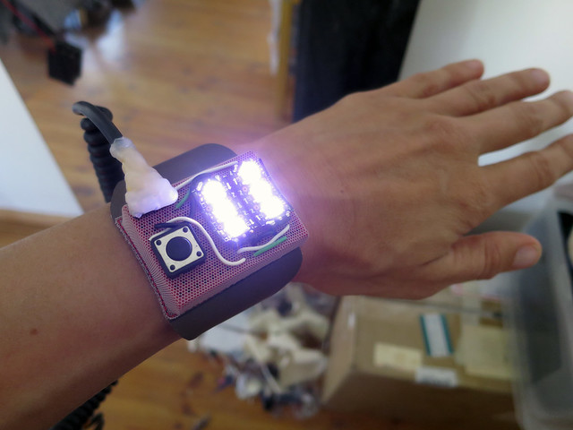 Wearable studio bike-lights