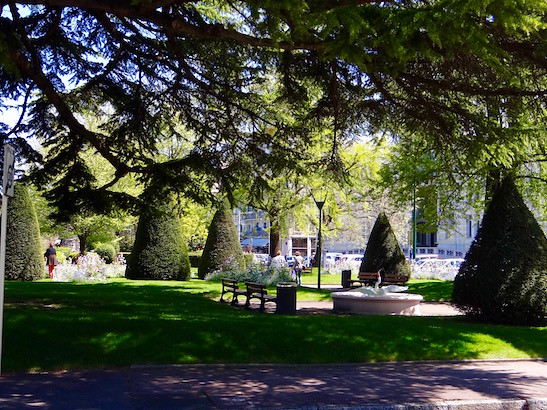 """""""Botanischer Garten"""" - die Promende von Evian"""