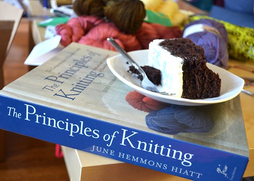 July30-CakeKnitting | by crazyknittinglady