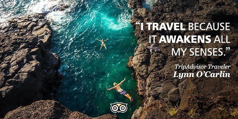#whywetravel tripadvisor traveler