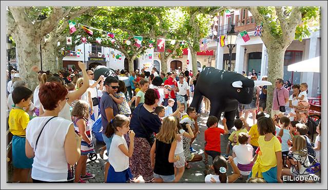 Briviesca en Fiestas 2016 Chocolatada, encierro infantil y verbena (7)