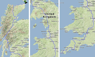 John O'Groats to Land's End (traffic free) | by travelling two