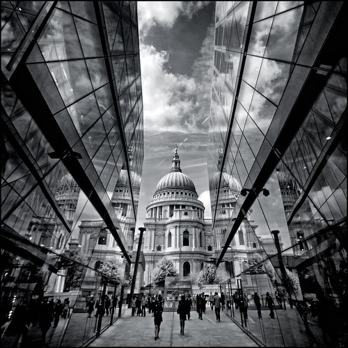 UK - London - One New Change mono sq | by Darrell Godliman