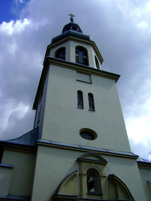 kościół w Błoniu