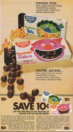 Tootsie Tots / Tootsie Jesters Candy - 1971 | by Waffle Whiffer