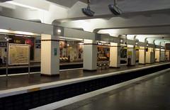 Paris - Metro Porte de Saint Cloud