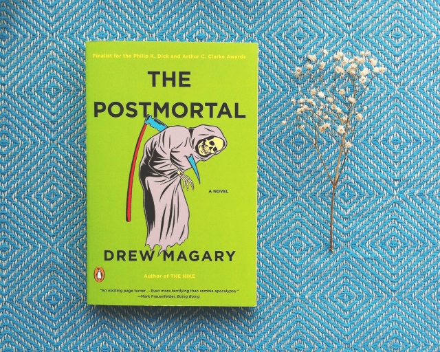 the postmortal drew book haul vivatramp
