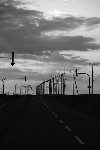 'Route 106' or the way to Wakkanai on JUL 20, 2016 (2)