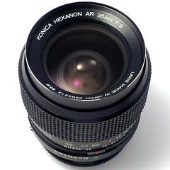 コニカ ヘキサノンAR 35mm F2