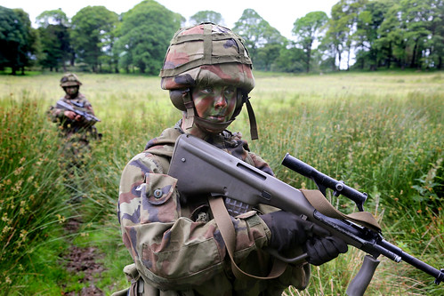 RDF Potenial NCOs, Officers, Recruits in Glen of Imaal | by Irish Defence Forces
