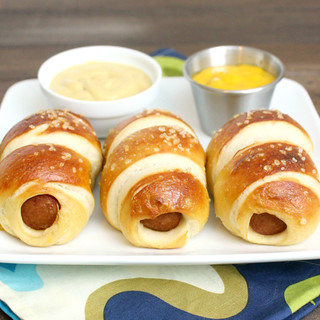 Pretzel Dogs | by Tracey's Culinary Adventures