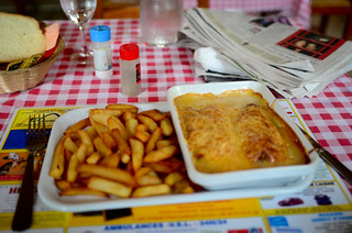 First Meal in France - Endive Gratin Truck Stop Cafe - April 27th 2012 | by The Hungry Cyclist