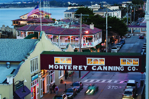 Cannery Row at Twilight | by ramadamonterey