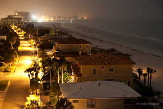 Clearwater Beach at Night | by Stefan Mazzola