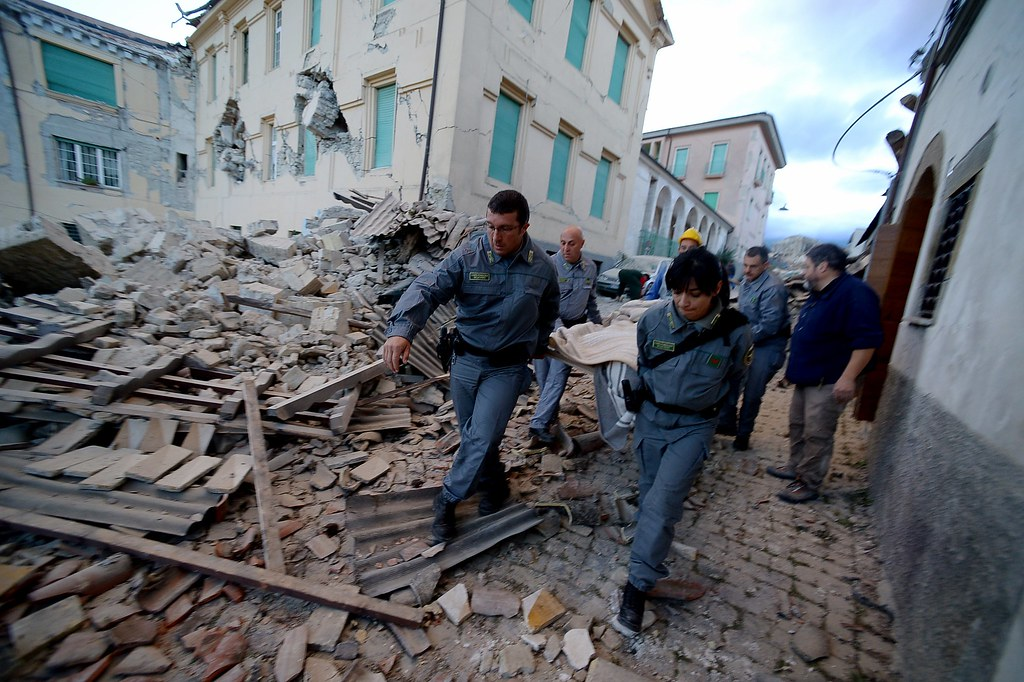 6.0 Earthquake devastates the Centre of Italy