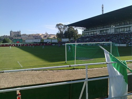 En el Estadio Salto del Caballo de Toledo. CD Toledo VS CD Lugo | by TlTO