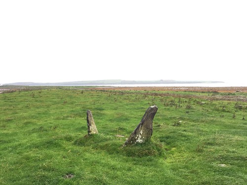 Stone Row at St Ninian's Bay