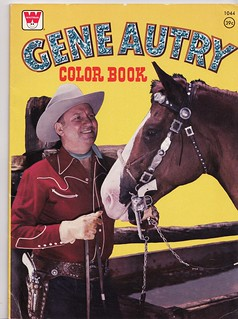 Gene Autry Coloring Book | by Calsidyrose