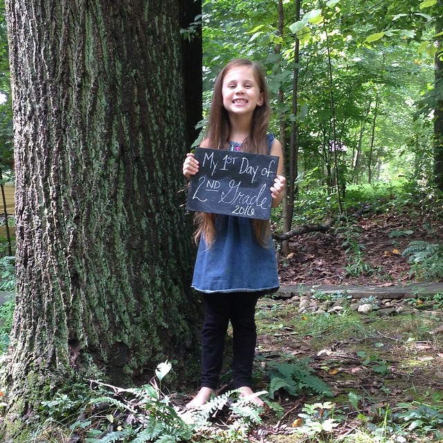 Our Homeschool, First Day Pictures | Freshly Planted