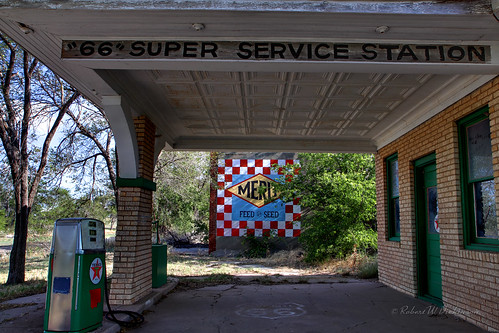 Restored Gas Station IV in Alanreed, TX on Route 66 in HDR | by eoscatchlight