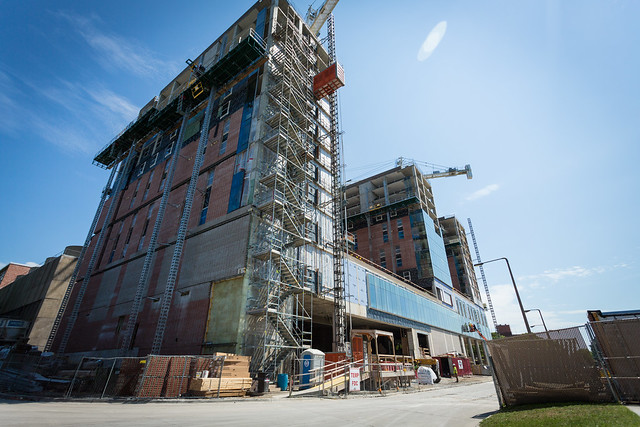 Madison Street Residence Hall - Fall 2016 Construction