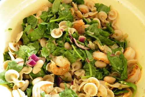 Shrimp and Spinach Pasta Salad | by cseeman