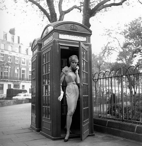Lucinda Hollongsworth, London, photo by Georges Dambier, 1959 | by skorver1