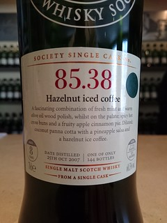 SMWS 85.38 - Hazelnut iced coffee