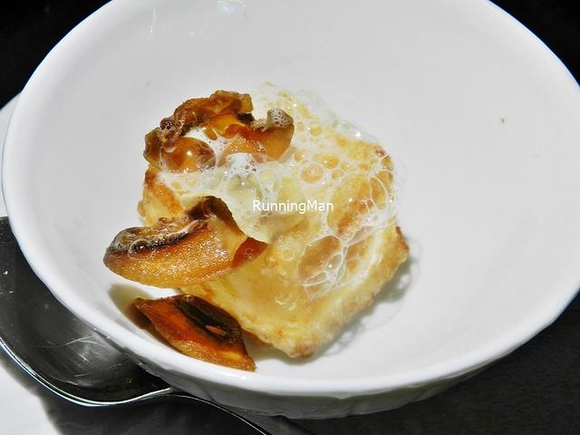 Mushroom, Prosciutto Blancmange, Coffee Beans