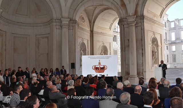 Cerimónia de apresentação do Projeto de Exposição das Joias da Coroa