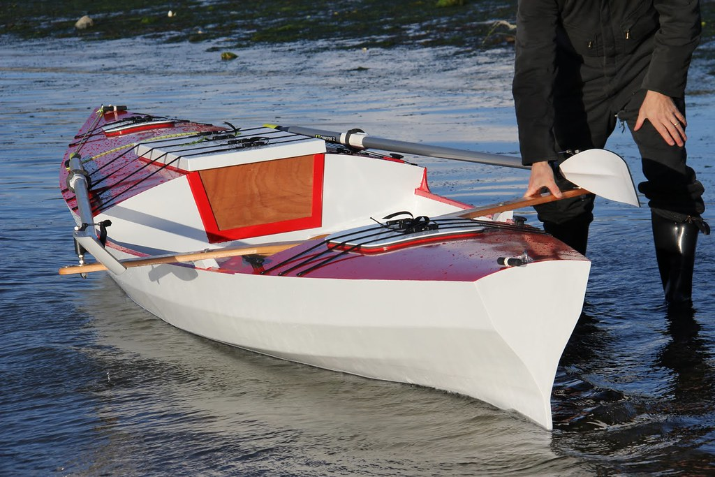 Build a Rowboat with a Sleeping Cabin - RowCruiser - Angus ...